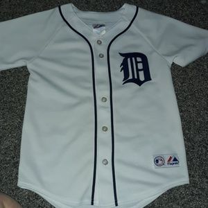 Authentic Majectic Detroit Tigers Jersey